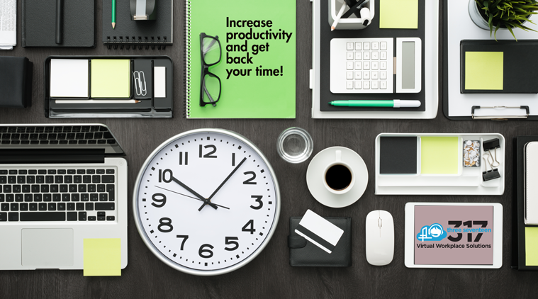 INCREASE PRODUCTIVITY AND GET BACK YOUR TIME