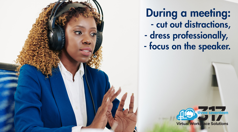 STOP ANNOYING BEHAVIORS DURING VIRTUAL MEETINGS